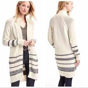 GAP Knit Toggle Long Cardigan